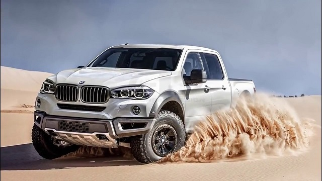 2019 BMW Pickup Truck front view