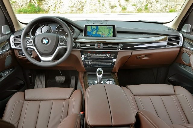 2019 BMW Pickup Truck interior