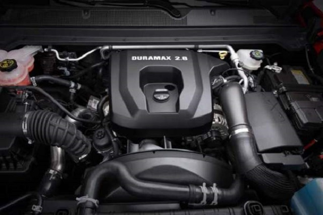 2019 Chevy Colorado Diesel engine