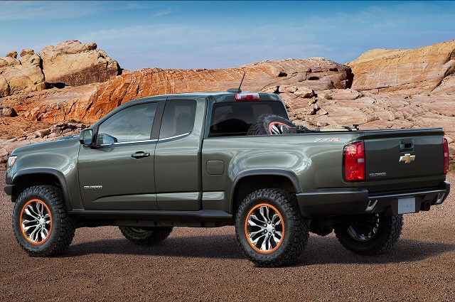 2019 Chevy Colorado Diesel rear view