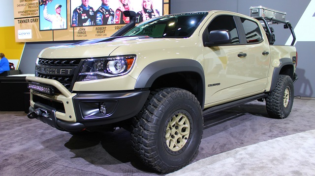 2019 Chevy Colorado ZR2 Bison front view