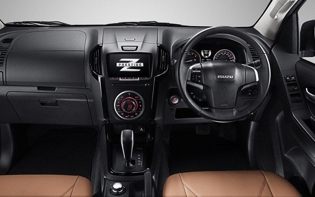 2019 Isuzu D-max interior