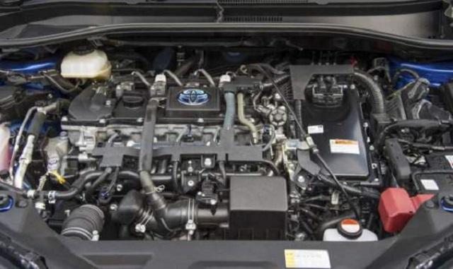 2019 Toyota Tacoma Hybrid engine