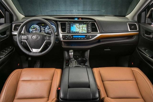 2019 Toyota Tacoma Hybrid interior
