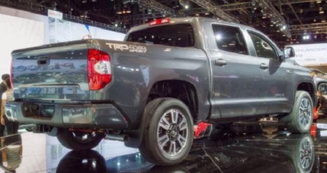 2019 Toyota Tundra Diesel rear view