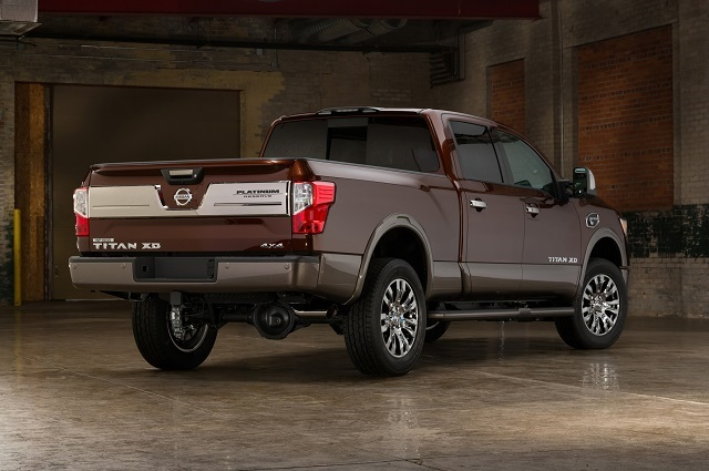 2019 Nissan Titan XD rear view