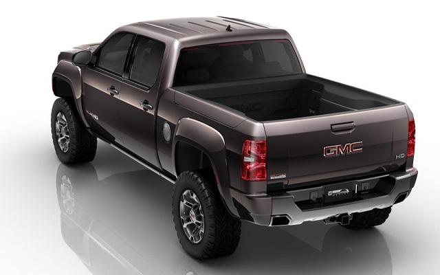 2020 GMC Sierra HD Concept rear view