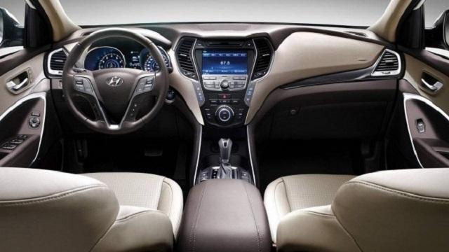 2020 Hyundai Santa Cruz Pickup Truck interior