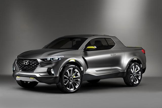 2020 Hyundai Santa Cruz Pickup Truck