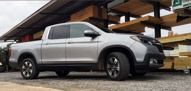 2020 honda ridgeline side view