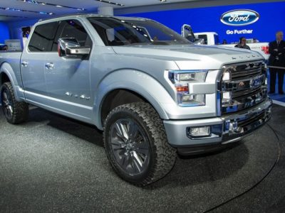 2019 Ford Atlas Pickup Truck Concept front view
