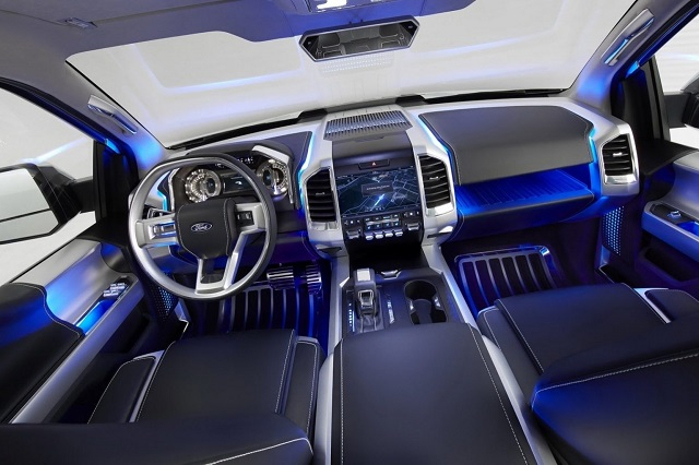 2019 Ford Atlas Pickup Truck Concept interior