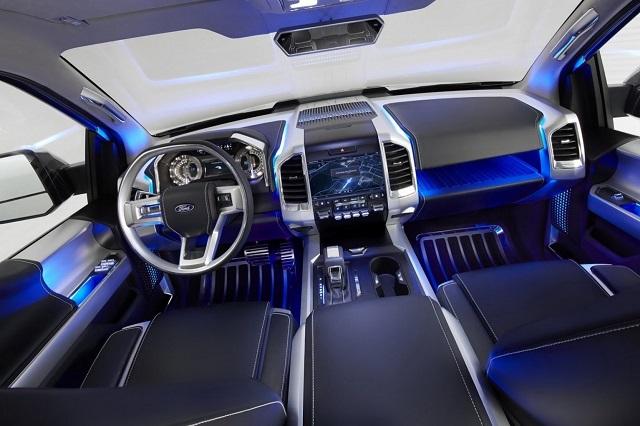 2019 Ford Atlas Pickup Truck Concept interior