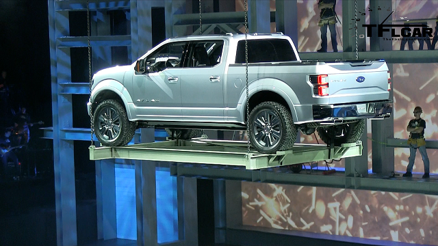 2019 Ford Atlas Pickup Truck Concept rear view