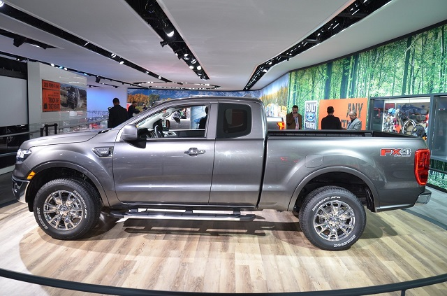 2019 Ford Atlas Pickup Truck Concept side view