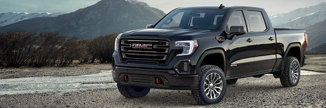 2019 GMC Canyon front view