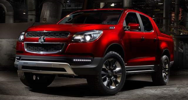 2019 Holden Colorado front view