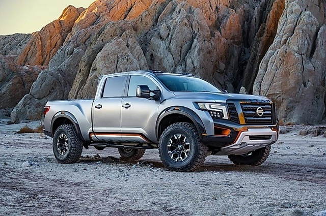 2019 Nissan Titan Warrior side view
