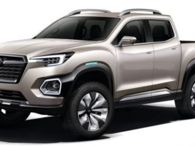 2019 Subaru Baja Pickup Truck Concept