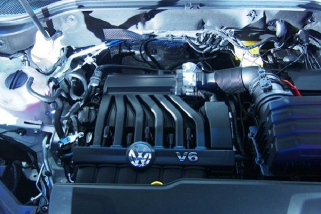 2019 VW Atlas Pickup Truck engine