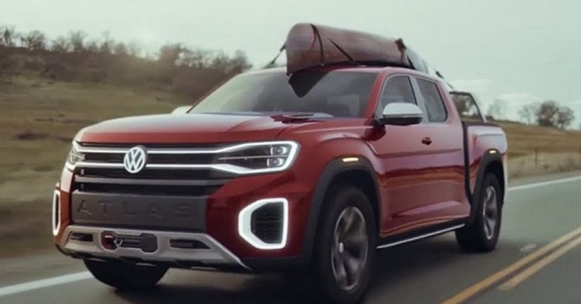 2019 VW Atlas Pickup Truck
