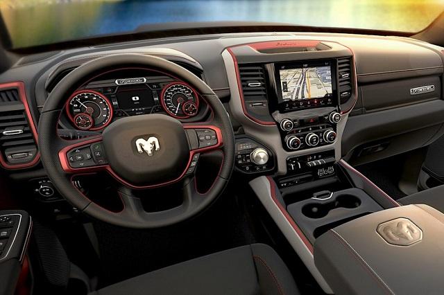 2020 Ram 1500 Rebel TRX interior