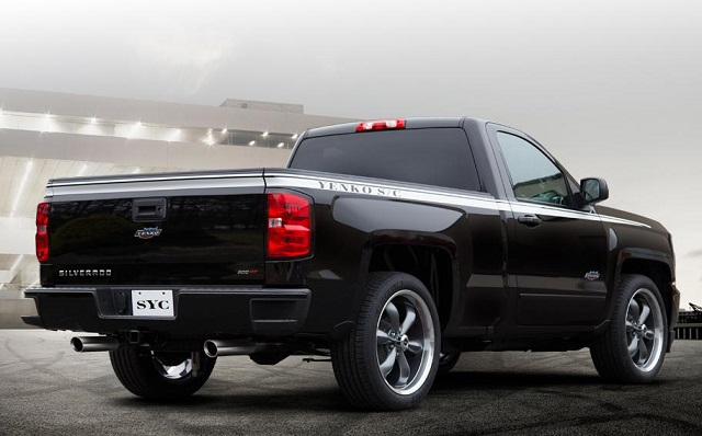 2019 Chevy Yenko Silverado rear view