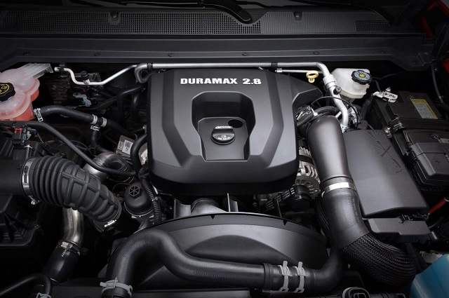2019 Dodge Dakota engine
