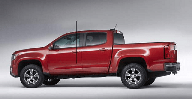 2019 Dodge Dakota side view