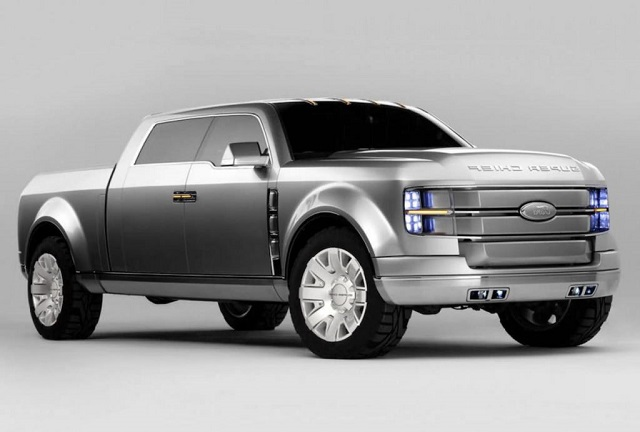 2019 Ford F-250 Super Chief Concept front view