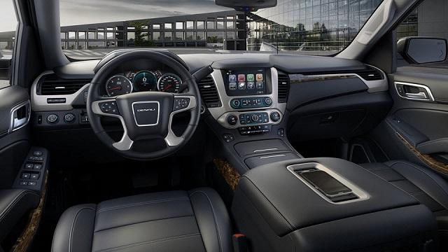 2019 GMC Sierra 1500 Denali interior