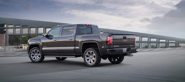 2019 GMC Sierra 1500 Denali rear view