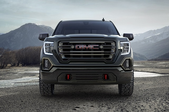 2019 GMC Sierra AT4 Off-Road Pickup Truck front view
