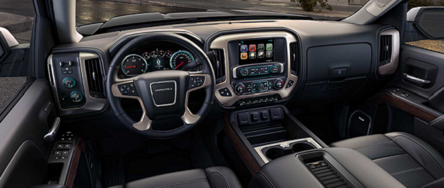 2019 GMC Sierra AT4 Off-Road Pickup Truck interior