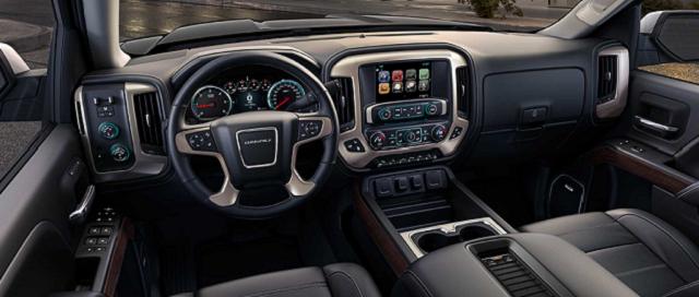 2019 GMC Sierra AT4 Off-Road Pickup Truck interior