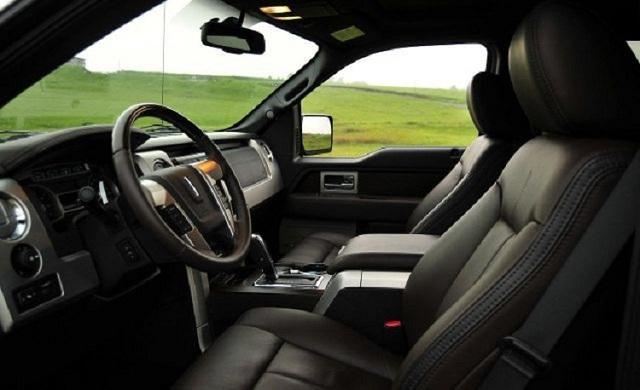 2019 Lincoln Mark LT pickup truck interior