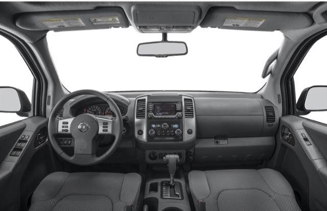2019 Nissan Frontier Midnight Edition Crew Cab interior