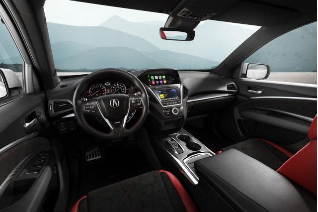 2020 Acura Pickup truck interior