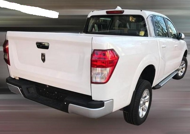 2020 Acura Pickup truck rear view