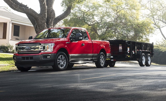 2020 Ford F-150 3.0L Power Stroke Diesel front view