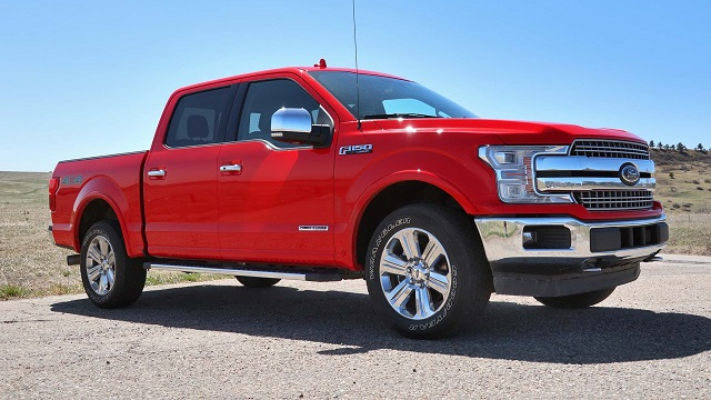 2020 Ford F-150 3.0L Power Stroke Diesel side view