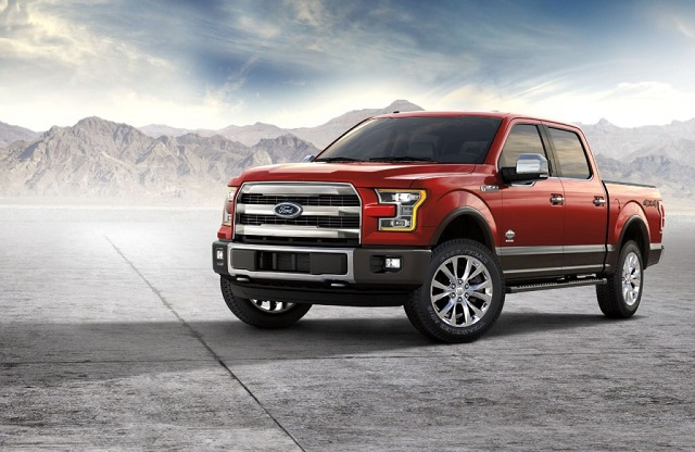 2020 Ford F-150 hybrid front view