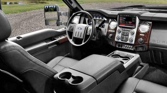 2020 Ford Lobo interior