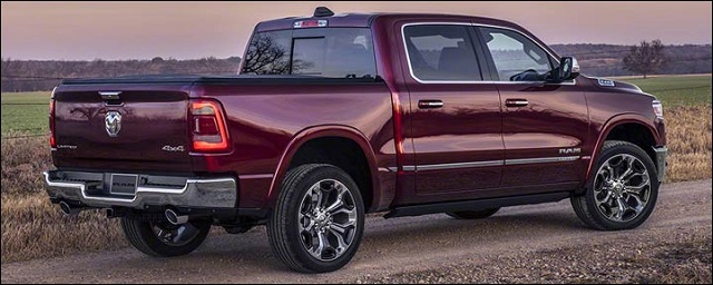 2020 Ram 1500 rear view