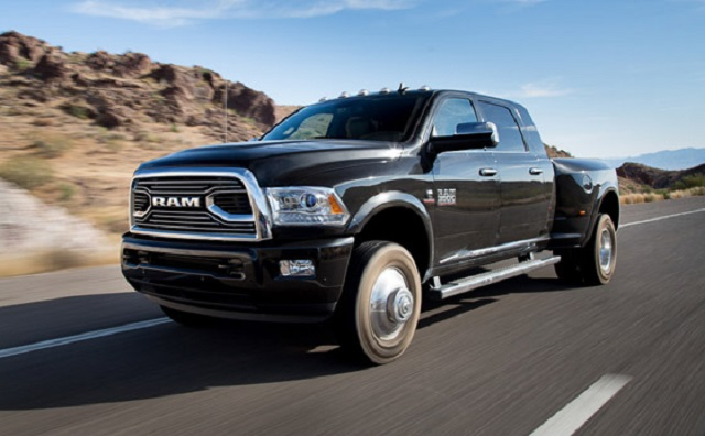2020 Ram 3500 Mega Cab Dually Heavy Duty Pickup Truck Spy