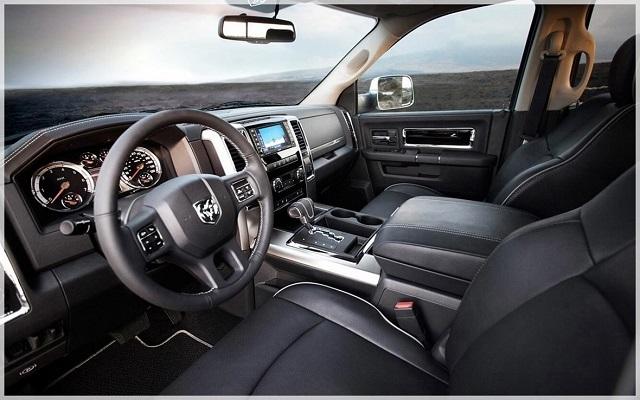2020 Ram 3500 Mega Cab interior