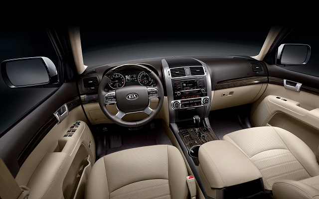 Kia pickup truck interior