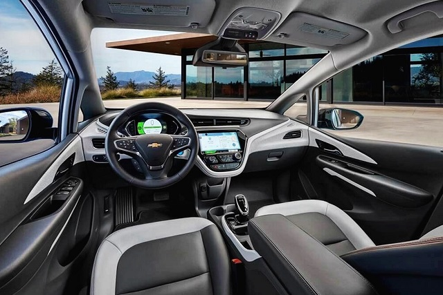 2019 Chevy El Camino interior