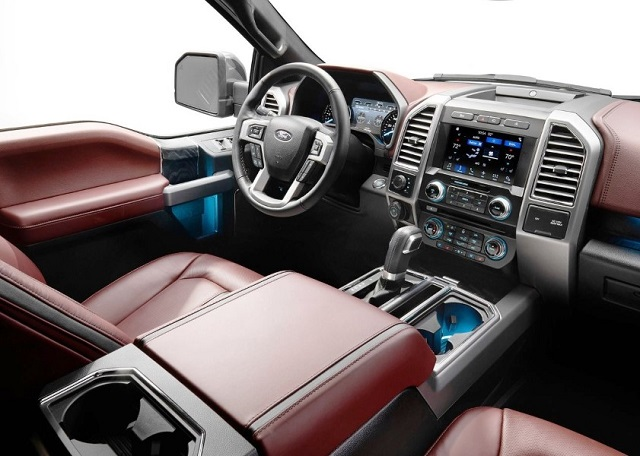 2019 F-150 Raptor interior