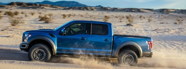 2019 F-150 Raptor side view
